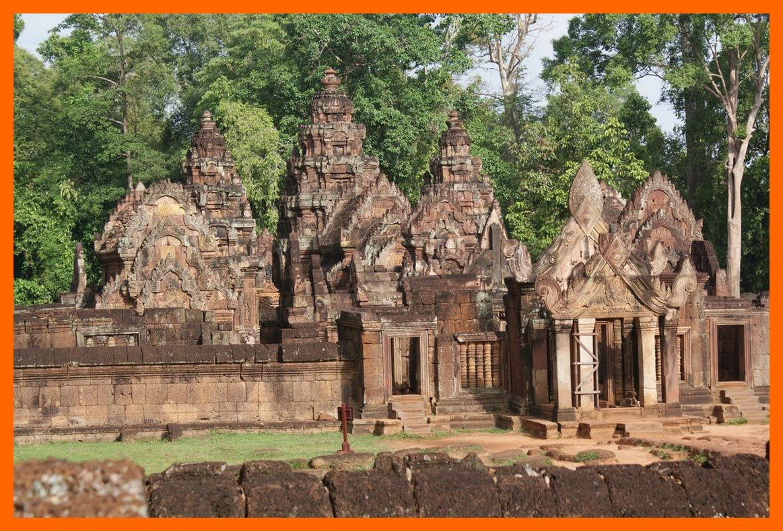 Banteay Srei.Cambodge 2012