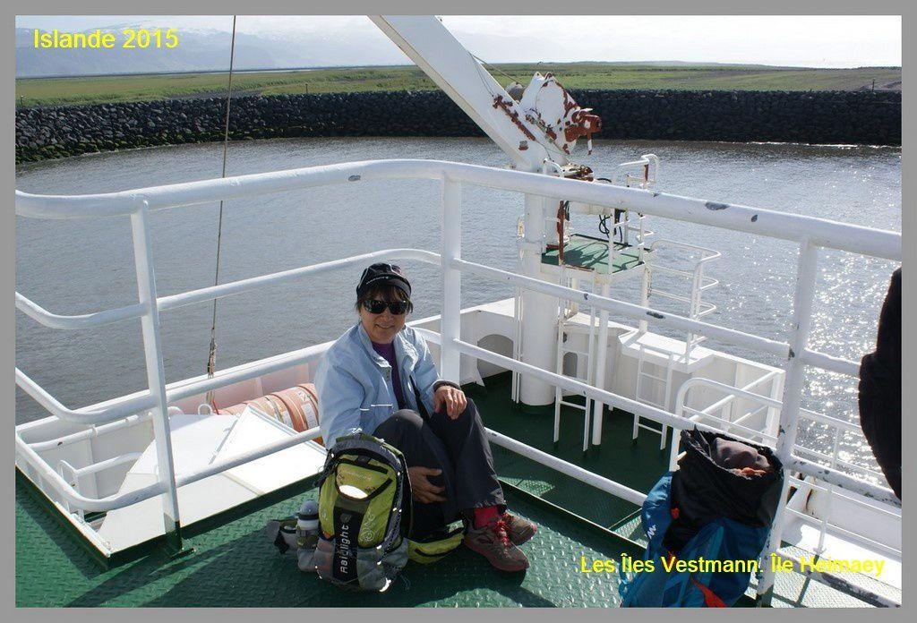 Islande 2015. Randonnées sur l'Île Heimaey. Jour 2