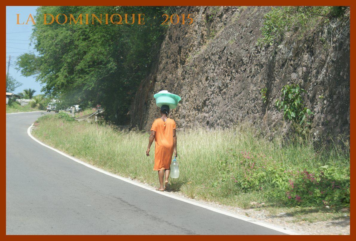 La Dominique 2015. De Roseau à Calibishie par la côte ouest. Jour 2