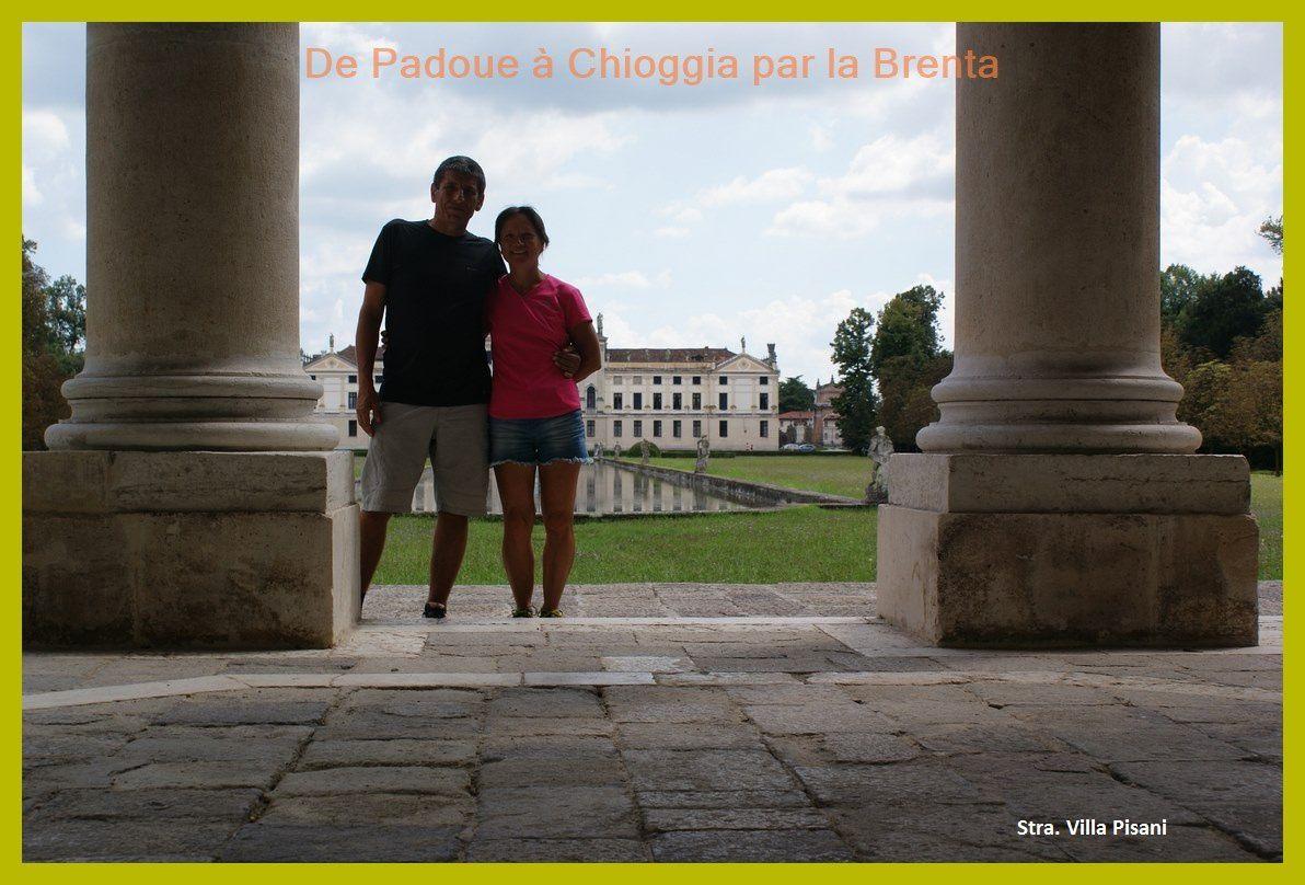 Vélo de Padoue à Chioggia en longeant la Brenta. 2014 Jour 6.