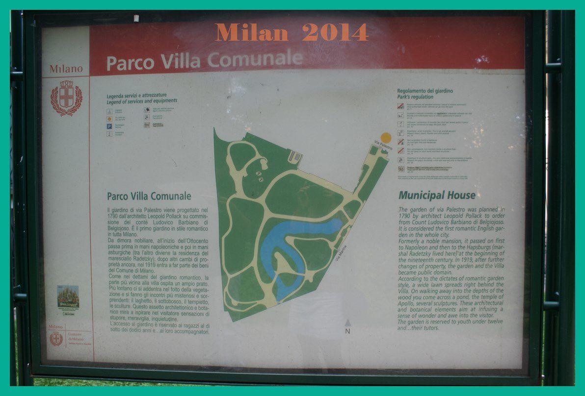 Milan 2014. Jour 1