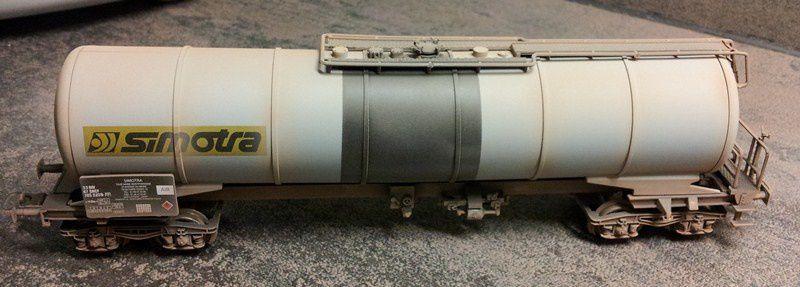 Rame de citernes (Wagon 10)