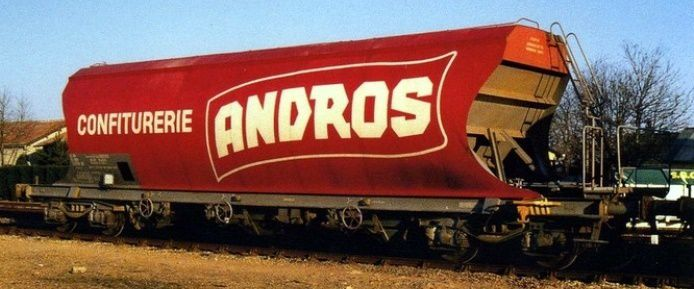 Wagon sucrier Andros rouge