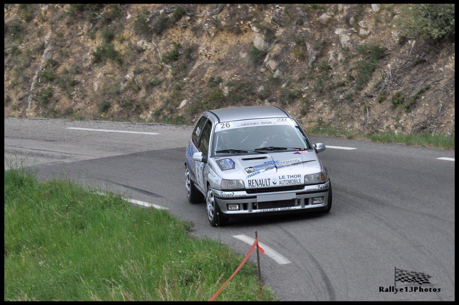 Rallye Monts du Vaucluse 10 mai 2014