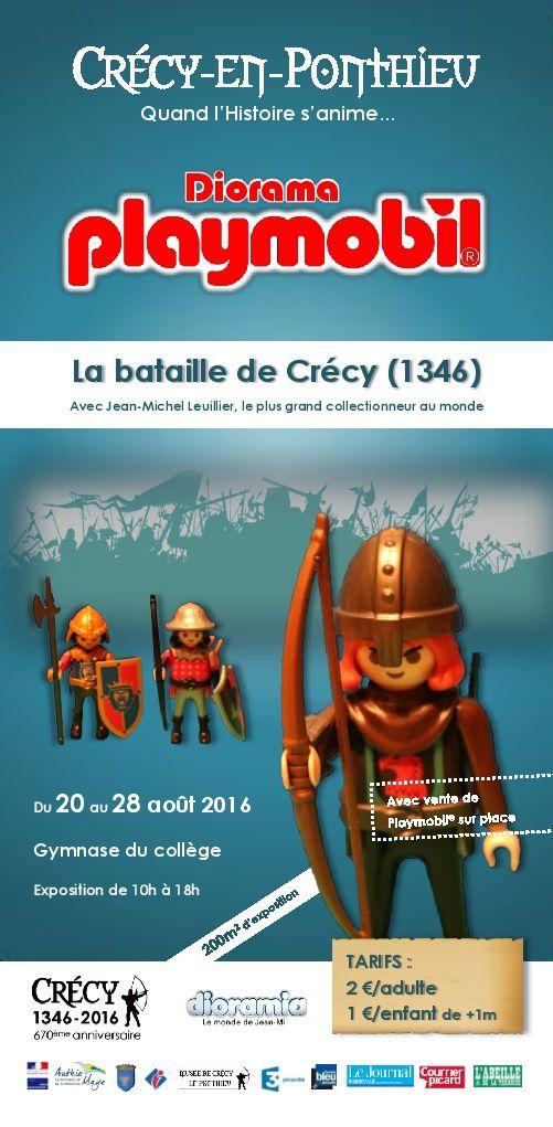 Exposition à Crécy en Ponthieu du 20 au 28 août 2016
