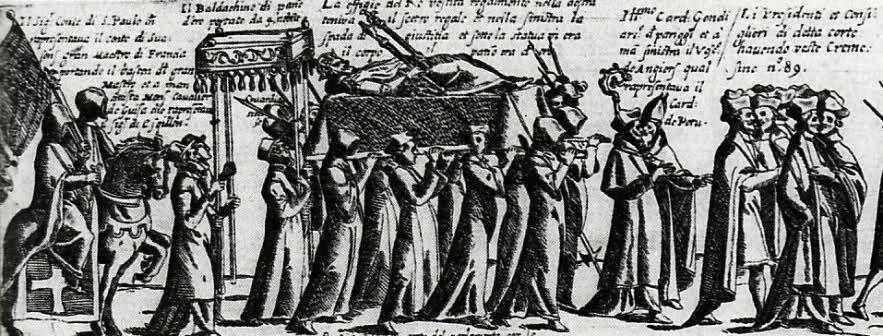 Les cérémonies funèbres du bon roi Henri IV
