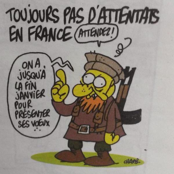 L'amour plus fort que la haine ? Intouchables ? Toujours pas d'attentats en France ? C'est dur d'être aimé par des cons !