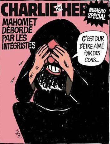 Ci-après la conférence de rédaction qui a produit cette une de Charlie-Hebdo
