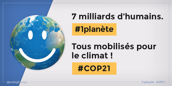 Transition de Lima à Paris #COP21