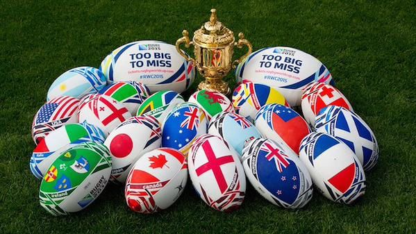 #RWC2015 Rugby World Cup status