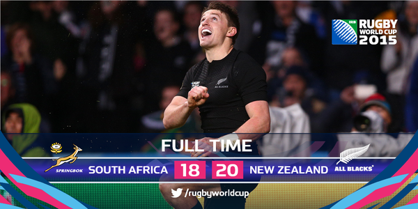 Demi finales #RWC2015 Rugby Status