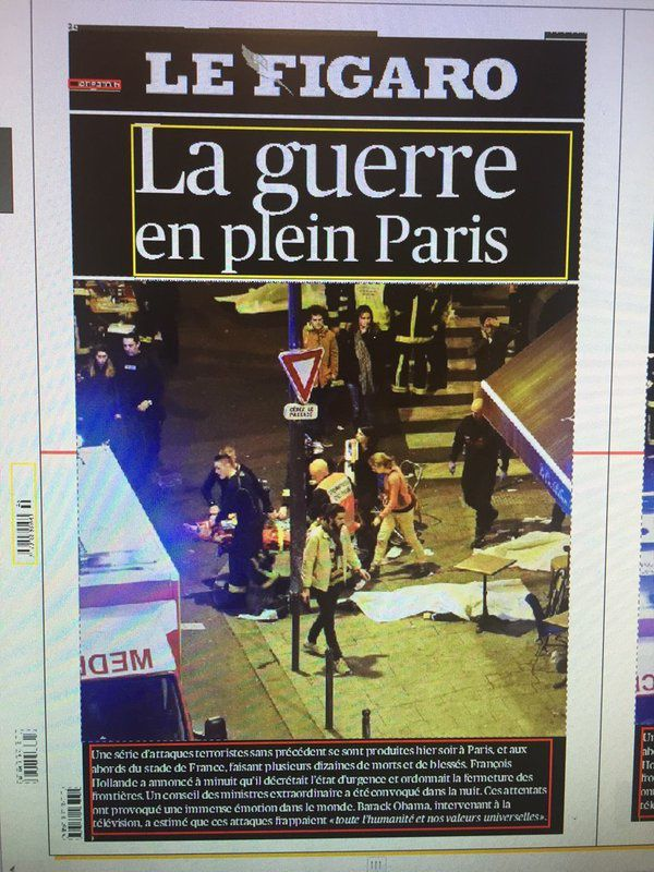 13 novembre 2015, attentats à Paris