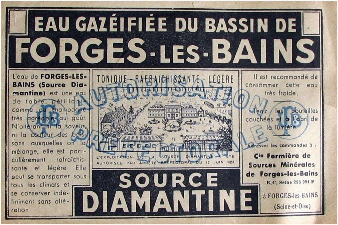 Forges-Les-Bains, ce cher pays de mon enfance.