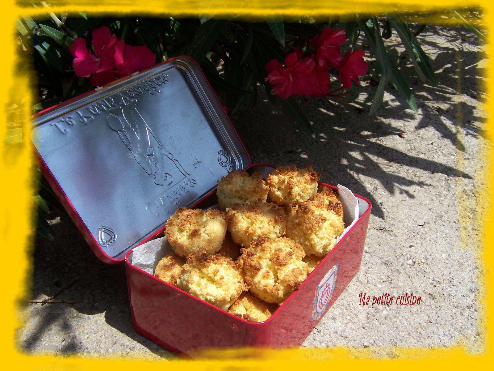 Macarons amande/coco