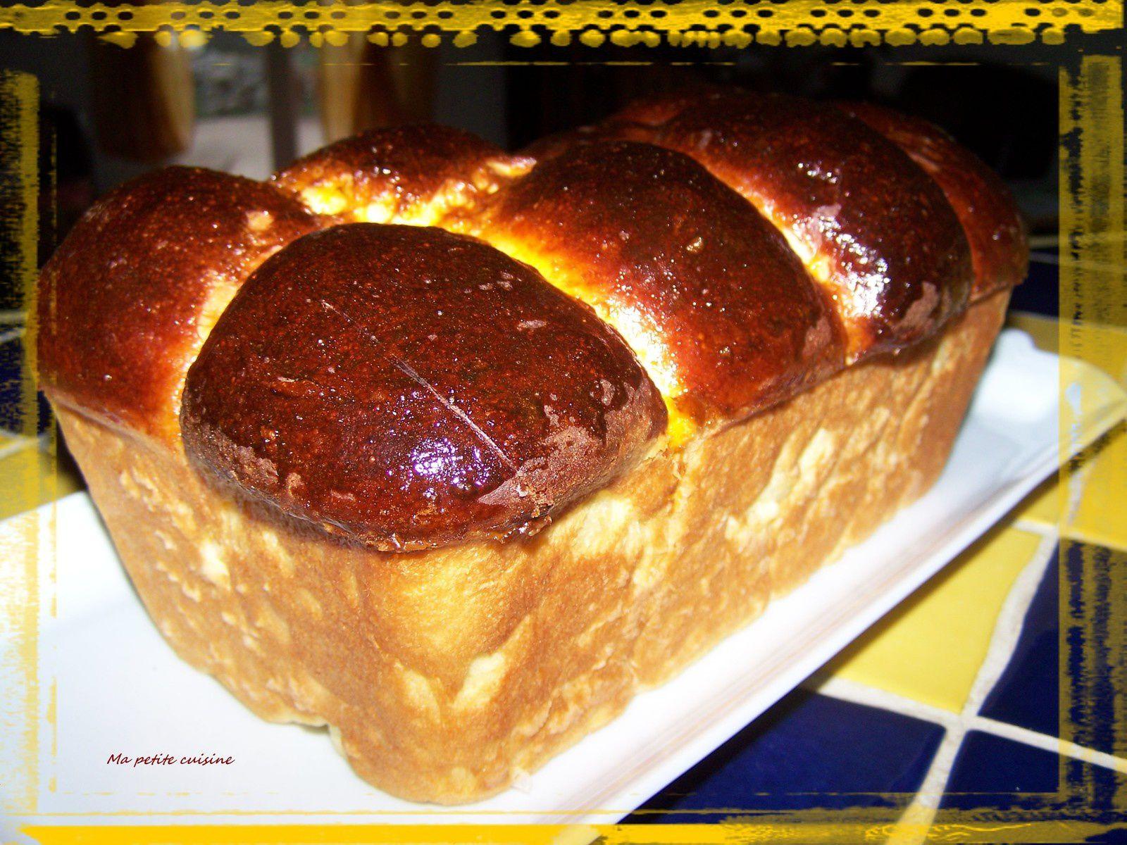 Brioche au fromage blanc, sans beurre