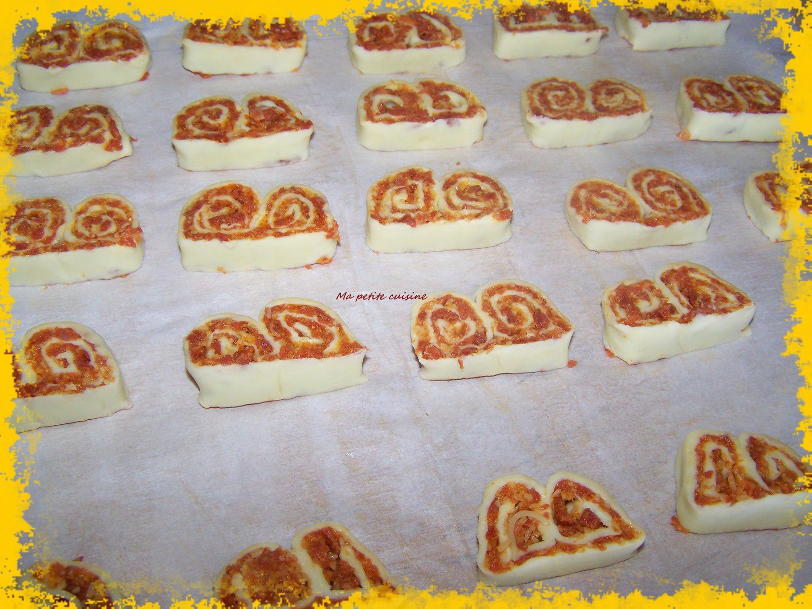 Palmiers chorizo-fromage
