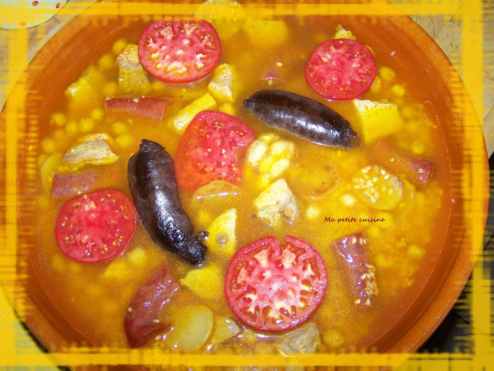 Arroz al horno/riz au four (recette espagnole)