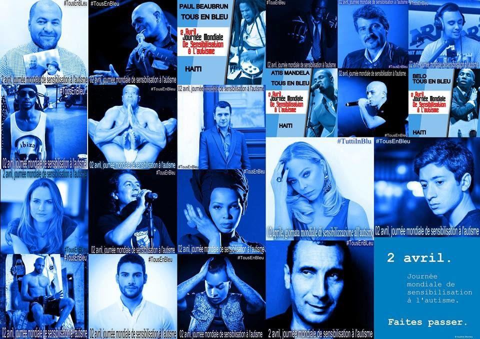 2 AVRIL JOURNEE NATIONALE DE L'AUTISME - Tous en bleu