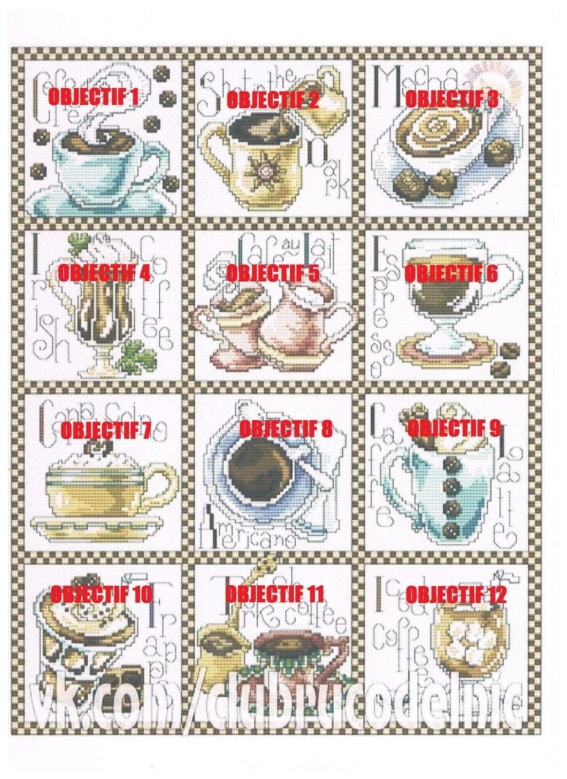 SAL &quot&#x3B;COFFEE BREAK&quot&#x3B; - 1er objectif terminé