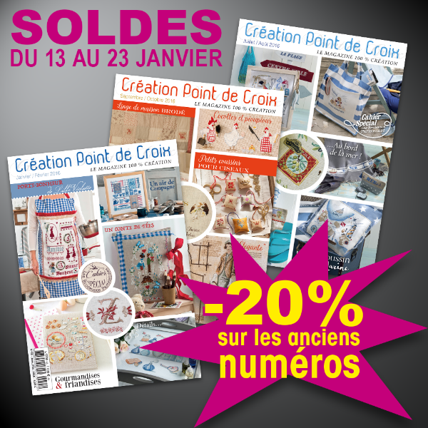 CREATION POINT DE CROIX - SOLDES