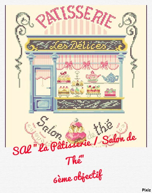 SAL &quot&#x3B;LA PATISSERIE / SALON DE THE&quot&#x3B; 6ÈME OBJECTIF TERMINE