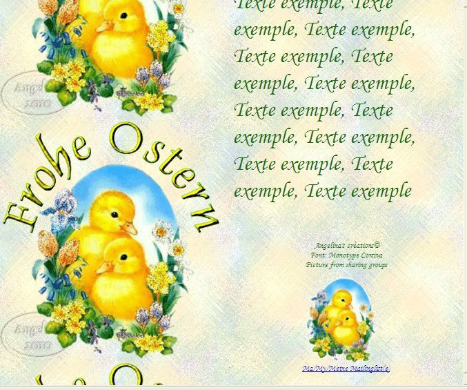 Frohe Ostern canards_fleurs Incredimail &amp&#x3B; Papier A4 h l &amp&#x3B; outlook gif &amp&#x3B; enveloppe &amp&#x3B; 2 cartes A5 &amp&#x3B; signets   frohe_ostern_canards_fleurs_pap