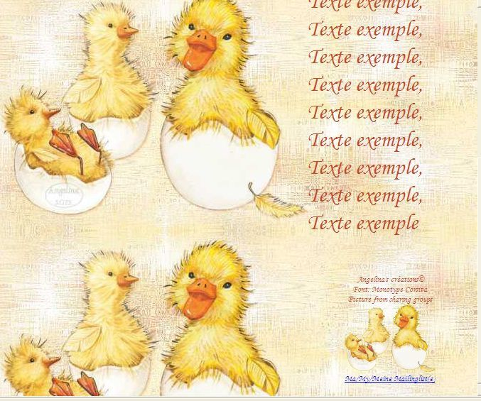 Pâques Ostern Easter babychicks_hatching_molly_00 Incredimail &amp&#x3B; Papier A4 h l &amp&#x3B; outlook &amp&#x3B; enveloppe &amp&#x3B; 2 cartes A5 &amp&#x3B; signets   th_paques_babychicks_hatching_molly_00