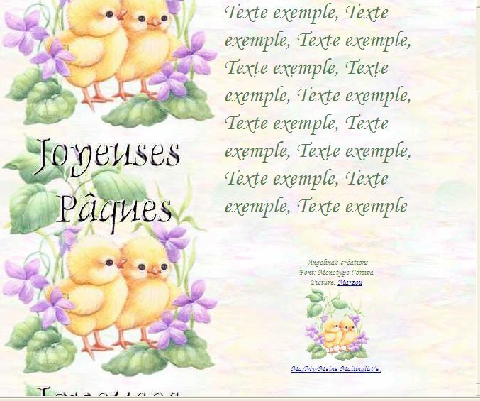 Joyeuses Pâques b672626 Incredimail &amp&#x3B; Papier A4 h l &amp&#x3B; outlook &amp&#x3B; enveloppe &amp&#x3B; 2 cartes A5 &amp&#x3B; signets       joyeuses_paques_paques_b6726262_00_marzou