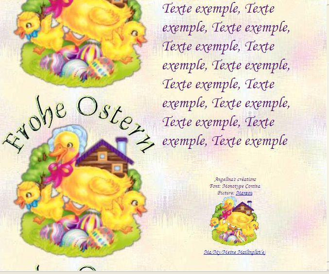 Frohe Ostern paques_7d293145_0 Incredimail &amp&#x3B; Papier A4 h l &amp&#x3B; outlook &amp&#x3B; enveloppe &amp&#x3B; 2 cartes A5 &amp&#x3B; signets  frohe_ostern_paques_7d293145_00_marzou