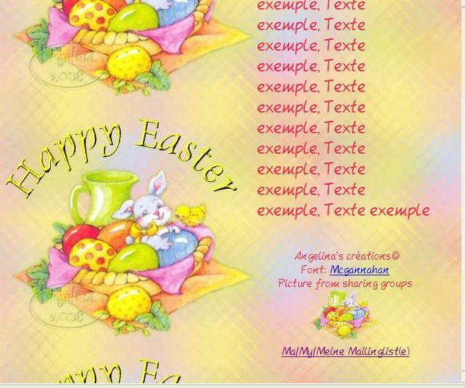 Happy Easter easter14 Incredimail &amp&#x3B; Papier A4 &amp&#x3B; outlook &amp&#x3B; enveloppe &amp&#x3B; 2 cartes A5 &amp&#x3B; signets happy_easter_th_hs_easter14