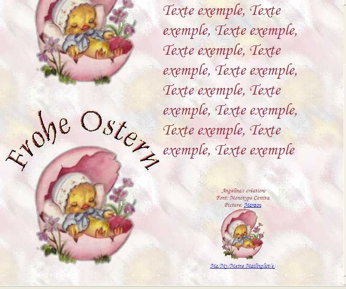 Frohe Ostern f87aqk05_0 Incredimail &amp&#x3B; Papier A4 h l &amp&#x3B; outlook &amp&#x3B; enveloppe &amp&#x3B; 2 cartes A5 &amp&#x3B; signets   frohe_ostern_paques_f87aqk05_00_marzou