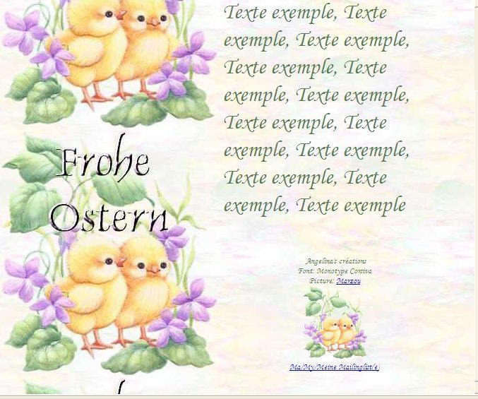 Frohe Ostern b6726262_0 Incredimail &amp&#x3B; Papier A4 h l &amp&#x3B; outlook &amp&#x3B; enveloppe &amp&#x3B; 2 cartes A5 &amp&#x3B; signets  frohe_ostern_paques_b6726262_00_marzou