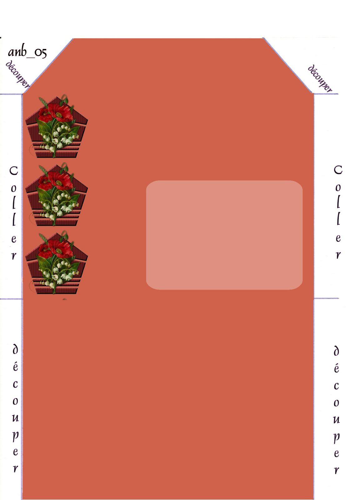 Fleurs Muguet Pavot Incredimail &amp&#x3B; outlook &amp&#x3B; Papier A4 h l &amp&#x3B; enveloppe &amp&#x3B; 2 cartes A5 &amp&#x3B; signets 3 langues et porte-bonheur fleur_bouquet_muguets22