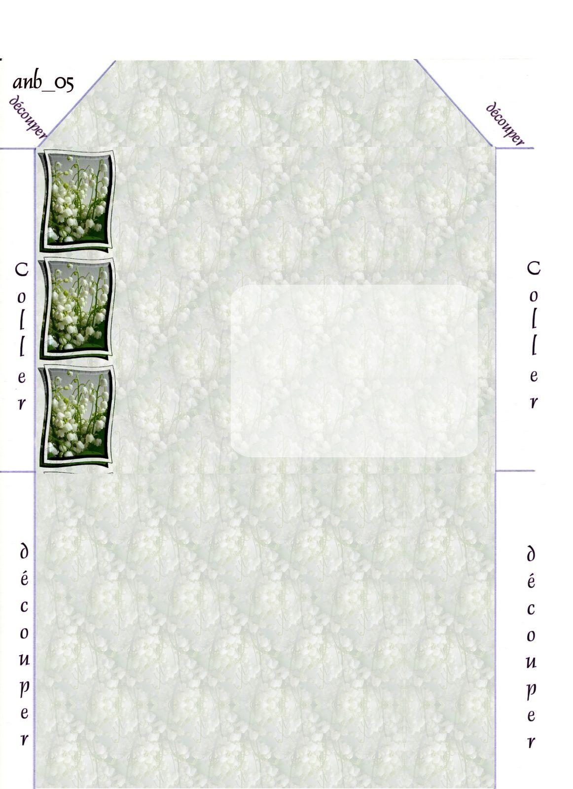 Muguet Incredimail &amp&#x3B; Papier A4 h l &amp&#x3B; outlook &amp&#x3B; enveloppe &amp&#x3B; 2 cartes A5 fleurs_muguet_67