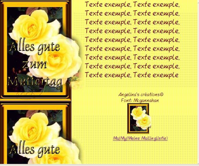 Alles gute zum Muttertag Incredimail &amp&#x3B; Papier A4 &amp&#x3B; outlook alles_gute_zum_muttertag_gold_mdl_roses_sdc