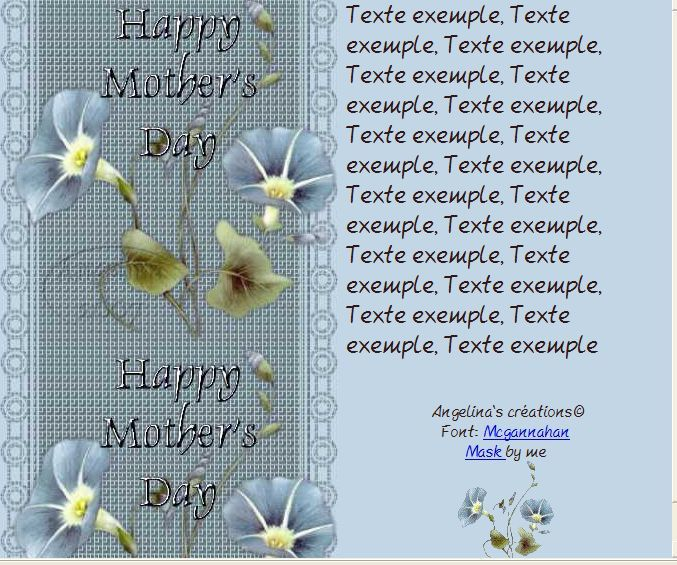 Happy Mother's day Incredimail &amp&#x3B; Papier A4 &amp&#x3B; outlook     happy_mothers_day_fleurs_saphiere_flower_4