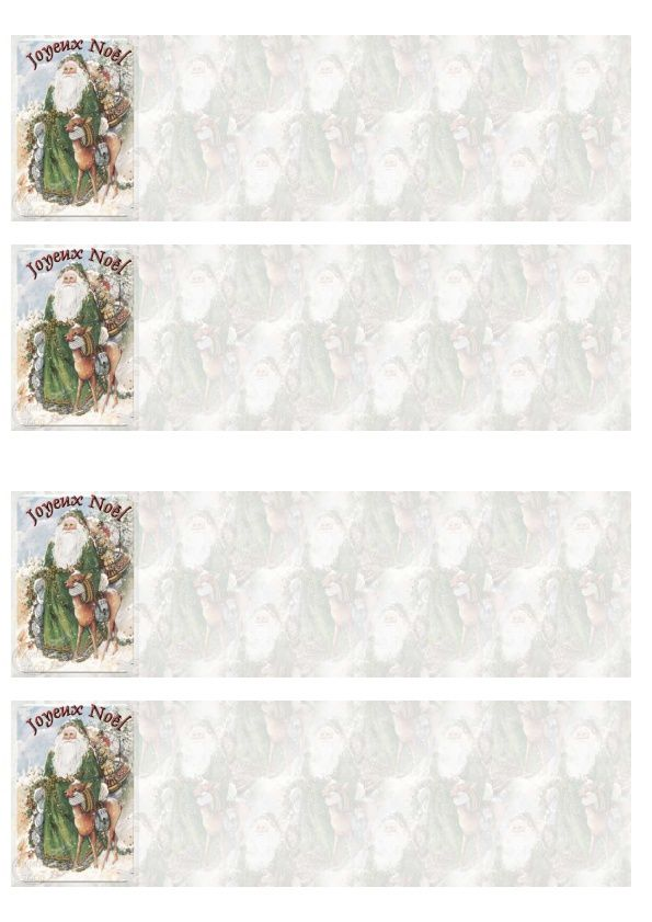 Joyeux Noël Incredimail &amp&#x3B; Papier A4 h l &amp&#x3B; outlook &amp&#x3B; enveloppe &amp&#x3B; 2 cartes A5 &amp&#x3B; signets     joyeux_noel_noel10053118
