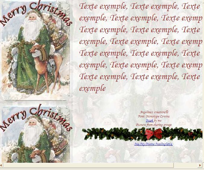 Merry Christmas Incredimail &amp&#x3B; Papier A4 h l &amp&#x3B; outlook &amp&#x3B; enveloppe &amp&#x3B; 2 cartes A5 &amp&#x3B; signets    merry_christmas_noel10053118