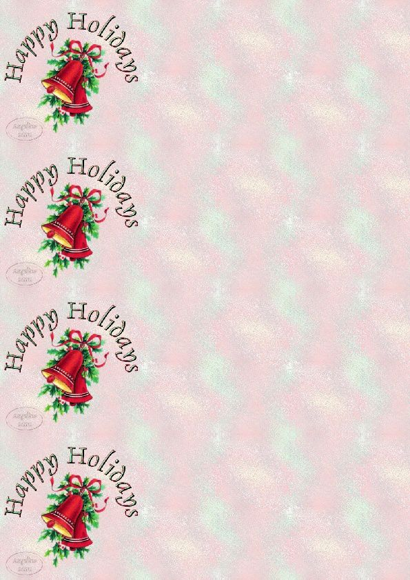 Happy Holidays Cloches IM &amp&#x3B; Papier A4 &amp&#x3B; outlook gif animé &amp&#x3B; enveloppe &amp&#x3B; 2 cartes A4 &amp&#x3B; signets    happy_holidays_cloches_1myh7uci_00