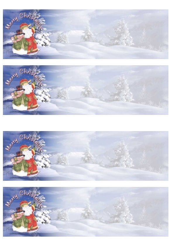 Merry Christmas Incredimail &amp&#x3B; outlook &amp&#x3B; Papier A4 h l &amp&#x3B; enveloppe &amp&#x3B; 2 cartes A5 &amp&#x3B; signets merry_christmas_10098944_pers