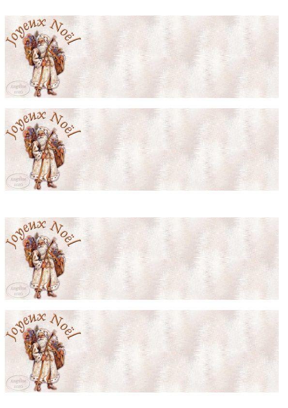 Joyeux Noël Père Noël robe clair Incredimail &amp&#x3B; Papier A4 h l &amp&#x3B; outlook &amp&#x3B; enveloppe &amp&#x3B; 2 cartes A5 &amp&#x3B; signets joyeux_noel_noel_pere_noel_xgqkk3gz_00