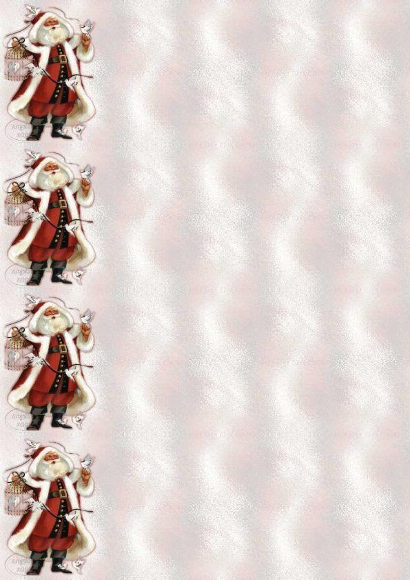 Thème Noël Père Noël oiseaux Incredimail &amp&#x3B; Papier A4 h l &amp&#x3B; outlook &amp&#x3B; enveloppe &amp&#x3B; 2 cartes A5 &amp&#x3B; signets 3 langues   th_noel_perenoeloiseaux_3zbdlk1l_00
