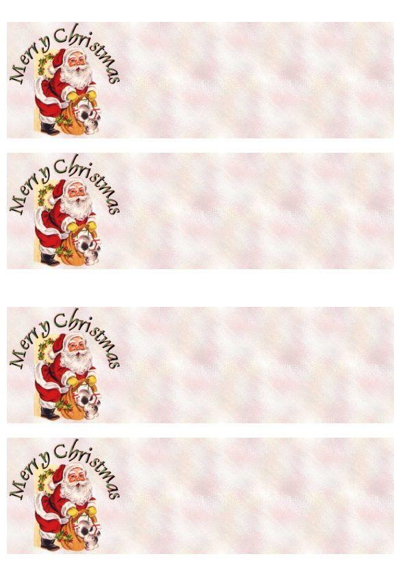 Merry Christmas Père Noël cadeau chien Incredimail &amp&#x3B; Papier A4 h l &amp&#x3B; outlook &amp&#x3B; enveloppe &amp&#x3B; 2 cartes A5 &amp&#x3B; signets   merry_christmas_noel_perenoel_cadeau_chien_2359f596_00