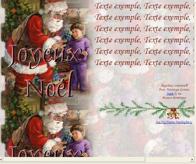 Joyeux Noël garçon canne à pêche IM &amp&#x3B; Papier A4 h l &amp&#x3B; outlook &amp&#x3B; enveloppe &amp&#x3B; 2 cartes A5 &amp&#x3B; signets joyeux_noel_noel_perenoelgarconpeche_2cc90885_00_domi