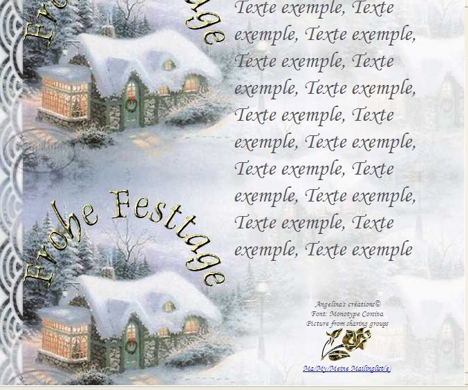 Frohe Festtage Incredimail &amp&#x3B; Papier A4 h l &amp&#x3B; outlook &amp&#x3B; enveloppe &amp&#x3B; 2 cartes A5 &amp&#x3B; signets  frohe_festtage_pays_hivernal_silent_night_00