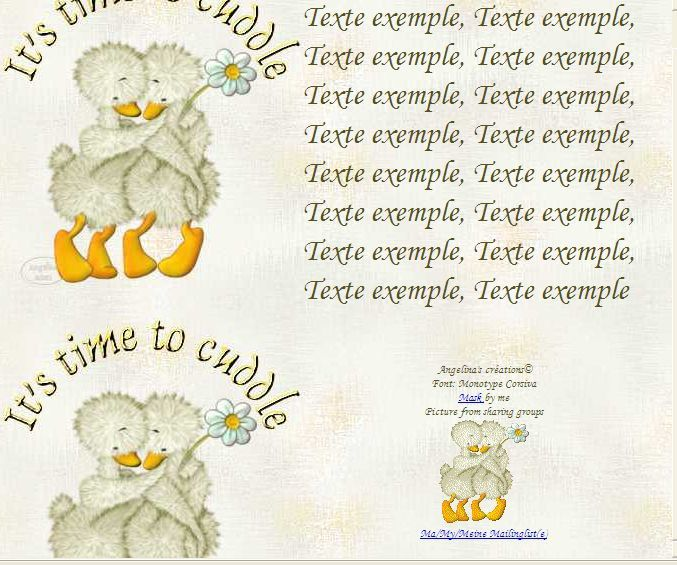 It's time to cuddle Canards Incredimail &amp&#x3B; Papier A4 h l &amp&#x3B; outlook &amp&#x3B; enveloppe &amp&#x3B; 2 cartes A5 &amp&#x3B; signets   its_time_canards_kuschel_chinni16_00