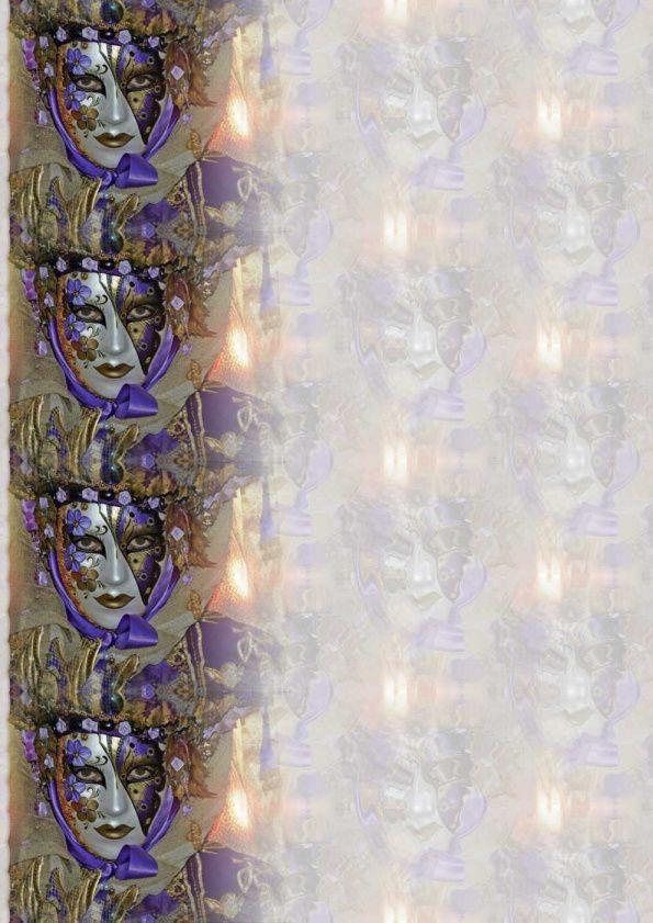 Personnage Carnaval de Venise Incredimail &amp&#x3B; Papier A4 h l &amp&#x3B; outlook &amp&#x3B; enveloppe &amp&#x3B; 2 cartes A5 &amp&#x3B; signets pers_venise_5