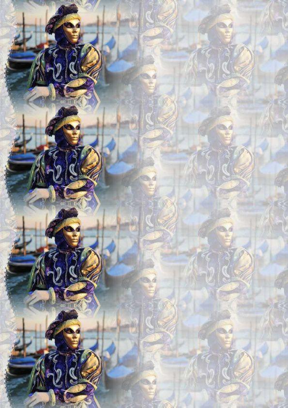Personnage Carnaval de Venise Incredimail &amp&#x3B; Papier A4 h l &amp&#x3B; outlook &amp&#x3B; enveloppe &amp&#x3B; 2 cartes A5 &amp&#x3B; signets pers_venise_carnaval2009_17