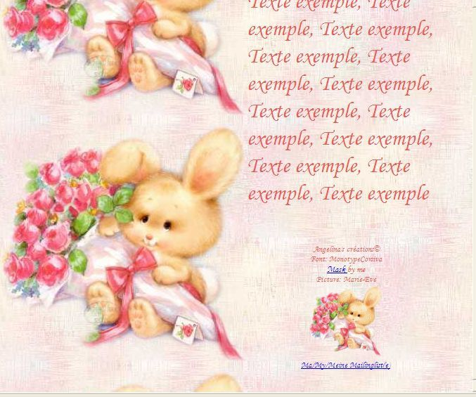 Pâques Ostern Easter bunny_and_flowers_4 Incredimail &amp&#x3B; Papier A4 h l &amp&#x3B; outlook &amp&#x3B; enveloppe &amp&#x3B; 2 cartes A5 &amp&#x3B; signets 3 langues  th_paques_bunny_and_flowers_4_you_00