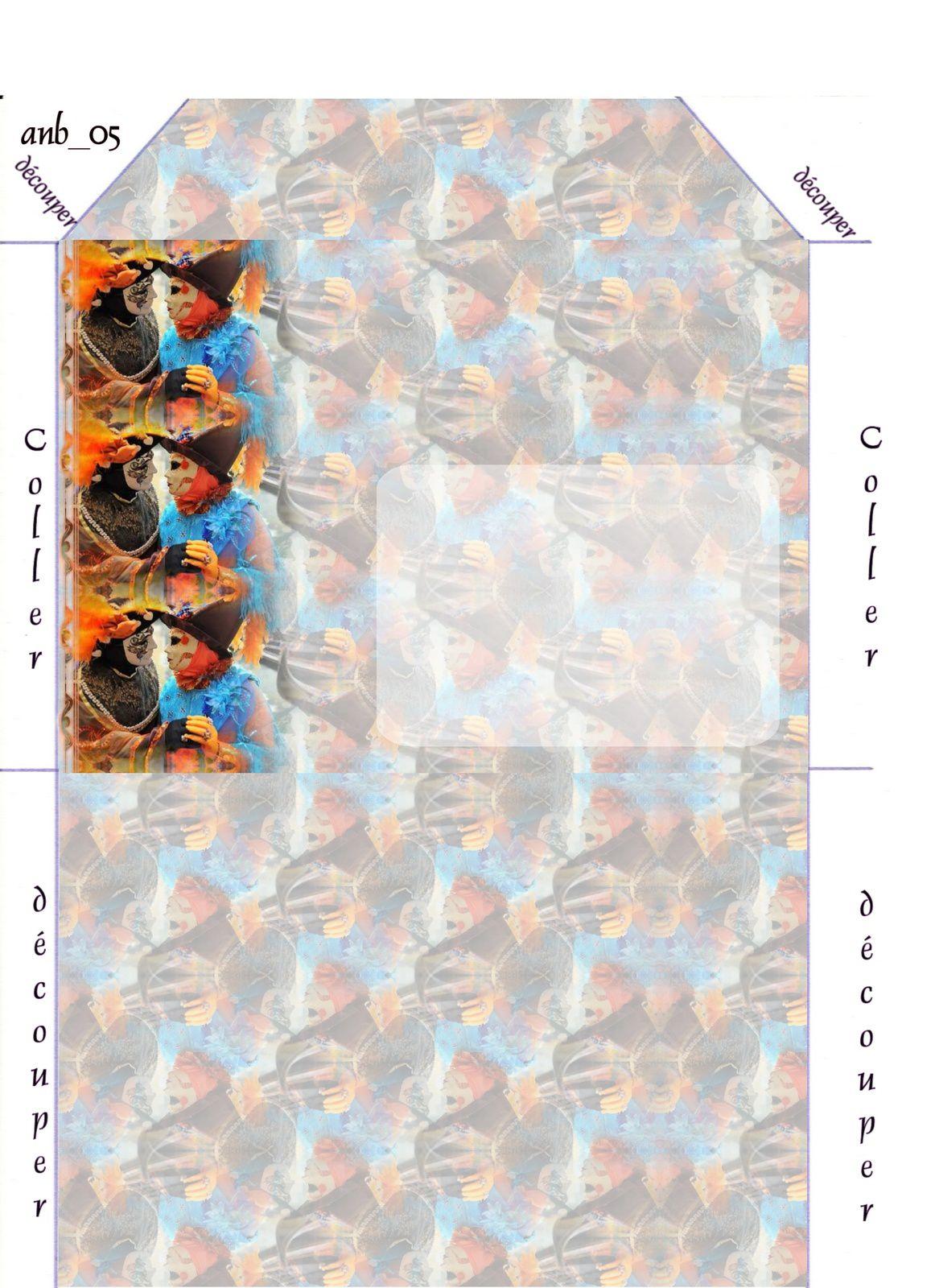 Carnaval de Venise Incredimail &amp&#x3B; Papier A4 h l &amp&#x3B; outlook &amp&#x3B; enveloppe &amp&#x3B; 2 cartes A5 &amp&#x3B; signets 3 langues   pers_venise_carnaval2009_10